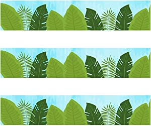 Leaves Border Trim - Bulletin Borders Stickers, 50 ft Back-to-School Decoration Borders for Bulletin Board/Black Board Trim, Teacher/Student Use for Classroom/School Decoration