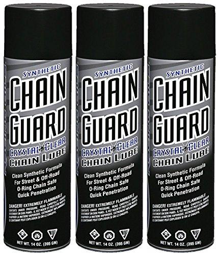 (Maxima Racing Oils 77920-3PK Synthetic Chain Guard 14 oz, 3-Pack, 40.5 Fluid_Ounces)