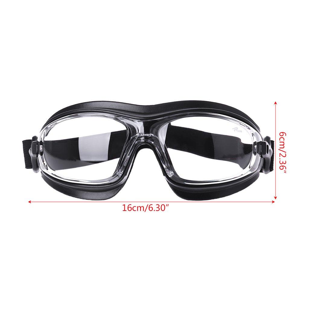 Yintiod Polvo Viento Resistente a los Golpes Negro Gafas de protecci/ón de Trabajo Arena Salpicaduras de Agua Productos qu/ímicos
