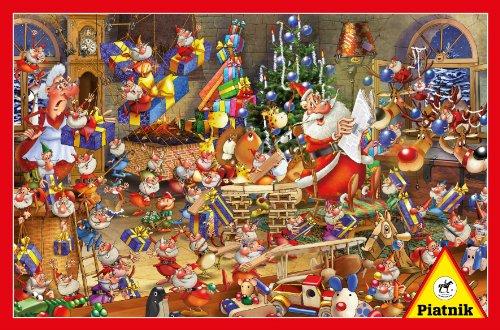 Christmas Chaos 1000 Piece Jigsaw Puzzle By Piatnik