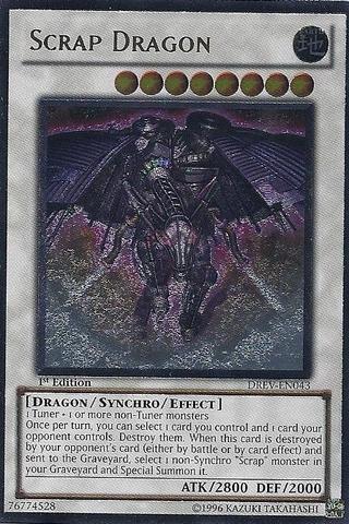 Yu-Gi-Oh! - Scrap Dragon (DREV-EN043) - Duelist Revolution - Unlimited Edition - Ultimate Rare by Yu-Gi-Oh!