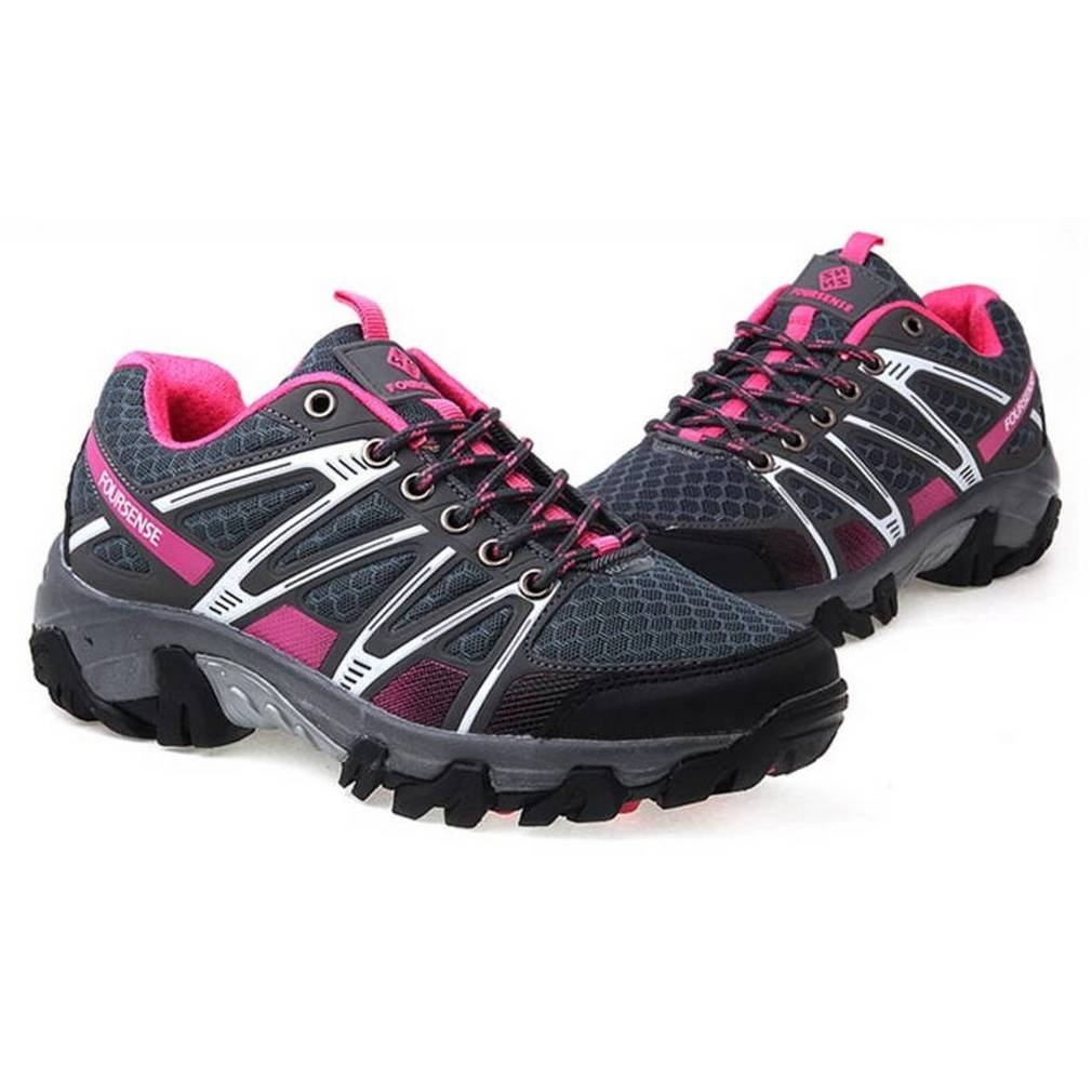 EpicStep Women's Athletic Walking Sports Outdoor Hiking Trekking Walking Athletic Trail Mountaineering Trainers Shoes B0739MTR4X 7 B(M) US|Pink Grey 64ebf7