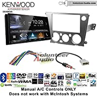 Volunteer Audio Kenwood DDX9904S Double Din Radio Install Kit with Apple CarPlay Android Auto Bluetooth Fits 2005-2009 Subaru Legacy, Outback