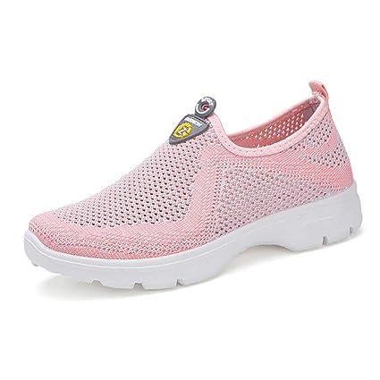 Zapatillas de running para mujer, zapatos de baile coreanos antideslizantes, transpirables y antideslizantes,