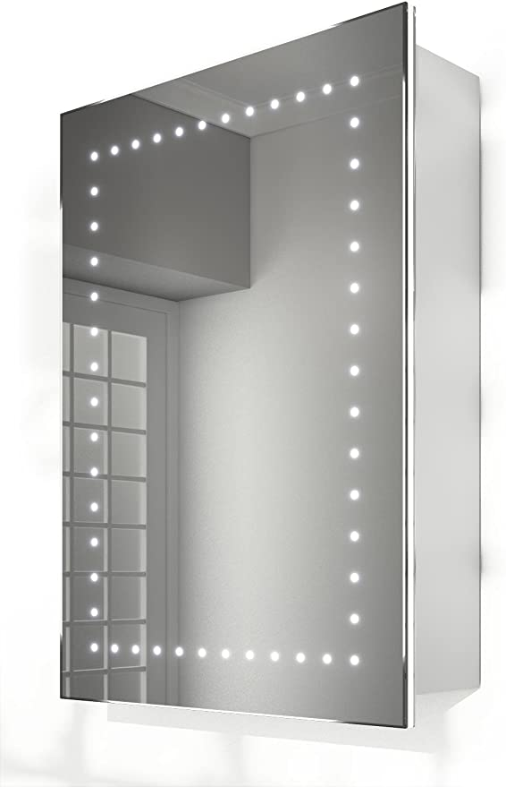 Cadha Beheizt Fur Badezimmer Spiegelschrank Ambiente Mit Sensor Rasiersteckdose Beheizt K238 Amazon De Kuche Haushalt