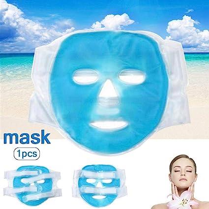 KiGoing Máscara de Belleza Bolsa de Hielo Fría Bolsa de Agua Caliente Bolsa Fisioterapia Poros: Amazon.es: Hogar