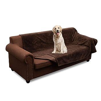 Amazon.com: Manta de felpa reversible para mascotas, 100 ...