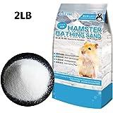Hamster Bathing Sand,Pet Sand for Tiny Friends Farm Chinchilla(2LB)
