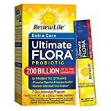 Cheap Renew Life – Ultimate Flora Probiotic Extra Care – 200 billion – 7 day digestive and immune health supplement – 7 packets
