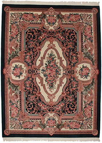 Wool Aubusson Runner (8'9