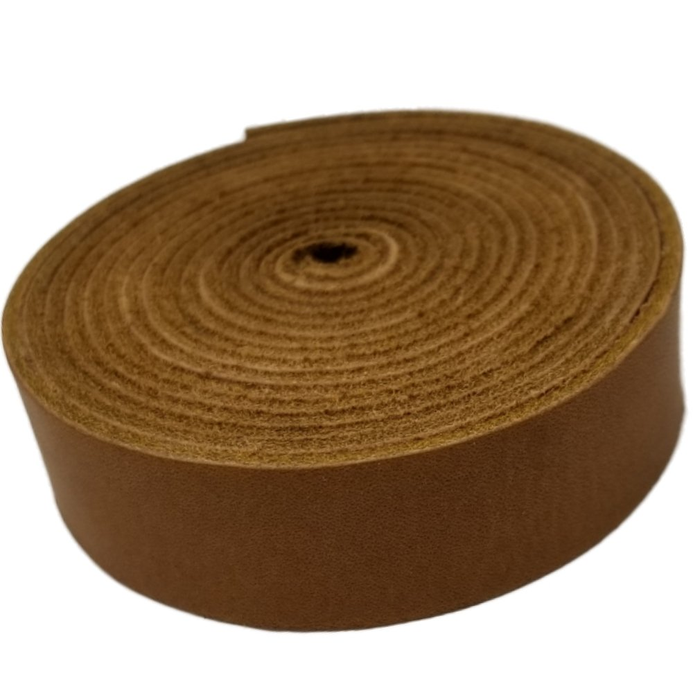 Leather Straps by TOFL Crafts Accenting Binding Leather Strips You Can Use. 4 oz. 1/6 Thick, 3/4Wide and 72 Long (Medium Brown) 4336862664