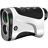 Gosky Golf Rangefinder - Laser Range Finder with Ranging, Scan, Speed Function - Free Battery (LE600G, 650yd/600m)