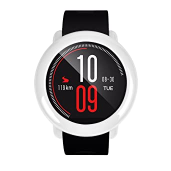 311f4290cb8b Correas para Reloj Inteligente HUAMI AMAZFIT ❤ Absolute 1PC Sport Silicon  Wristband + 1PC Frame Funda Correa de Repuesto Deportiva de Silicona  ...