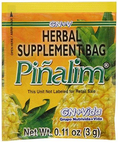 - Pinalim Tea/Te de Pinalim Mexican Version- Pineapple, Flax, Green Tea, & White Tea - 30 Day Supply
