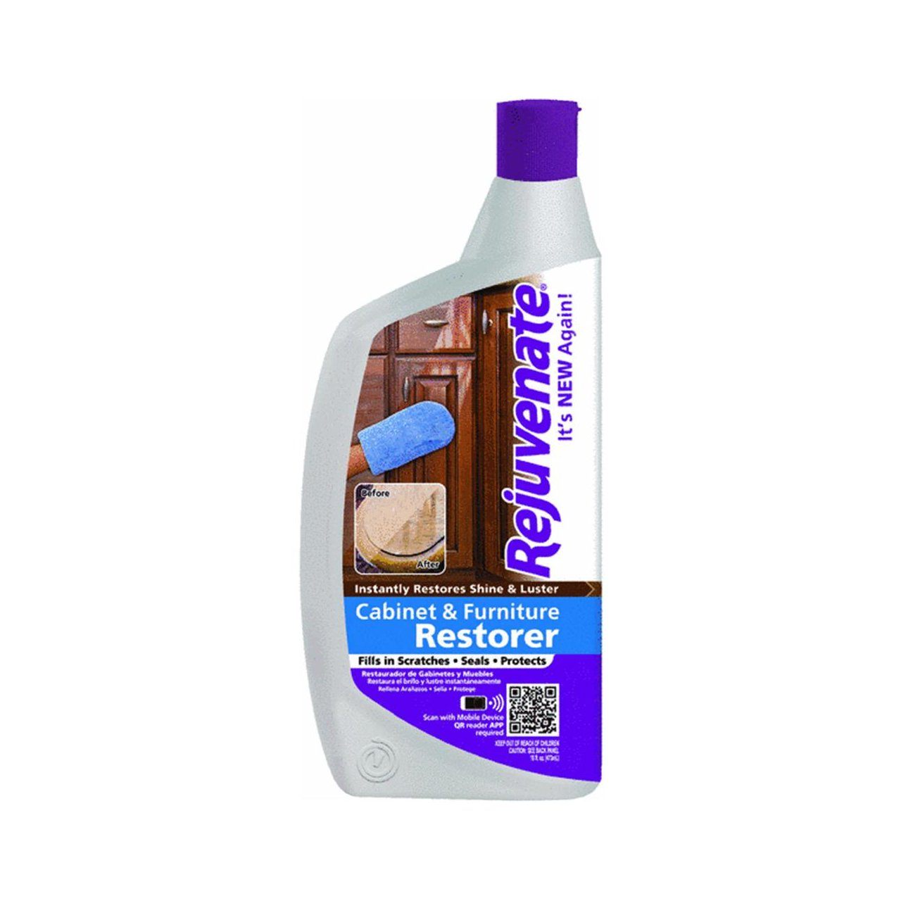 Ordinaire Amazon.com: Rejuvenate Cabinet And Furniture Restorer And Protectant (12  Oz): Home U0026 Kitchen