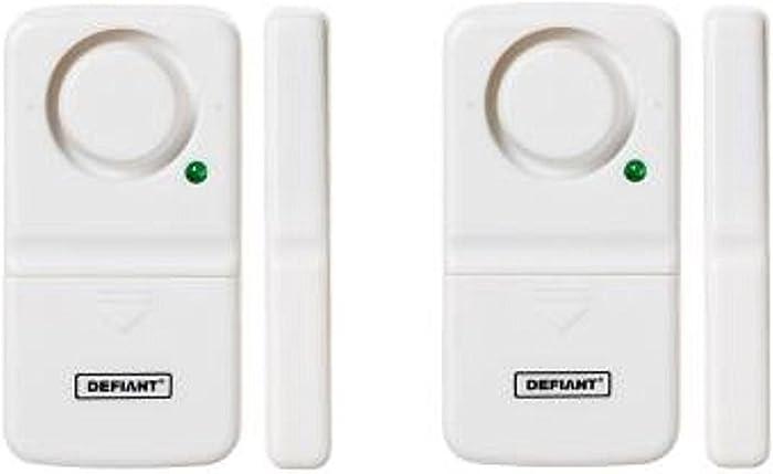 Defiant Home Security Door/Window Alarm (2-Pack)
