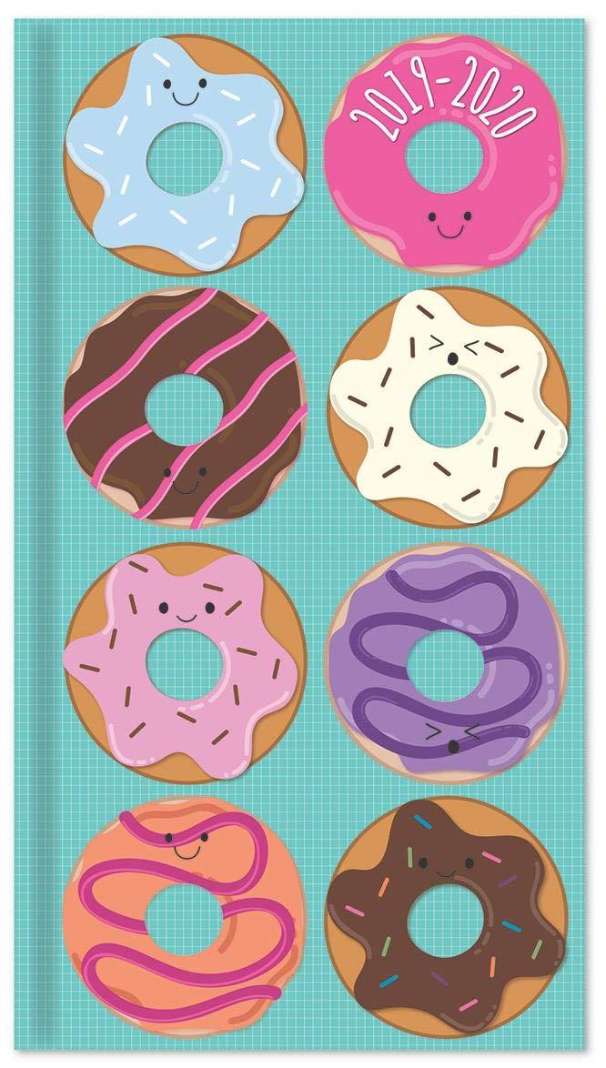 Doughnuts Slim Academic Diary 2019-2020 Week-to-View Mid Year