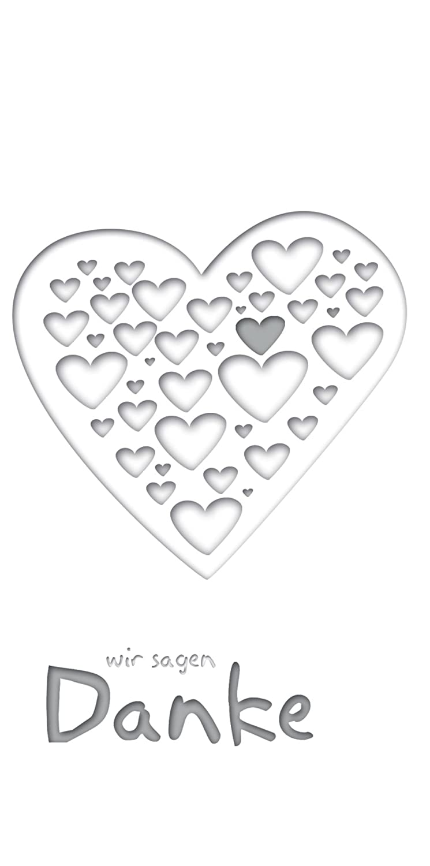 Kartenparadies Danksagung für Hochzeitsgeschenke Hochzeit Dankeskarte Herzform, Herzform, Herzform, hochwertige Danksagungskarte Hochzeitsglückwünsche inklusive Umschläge   20 Karten - (Format  145x145 mm) Farbe  RosaLeuchtend B01NCXTG1N | Leicht zu reini 7febb0