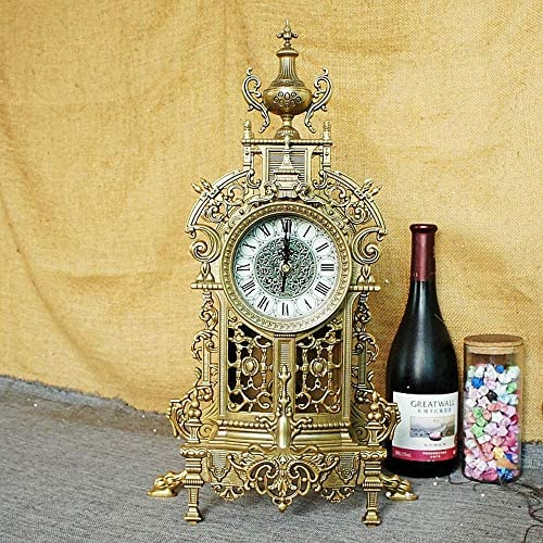 スポットロイヤルギフト金属装飾金属ブロック時計豊富なコレクションクリエイティブ芸術的装飾 作りがいい