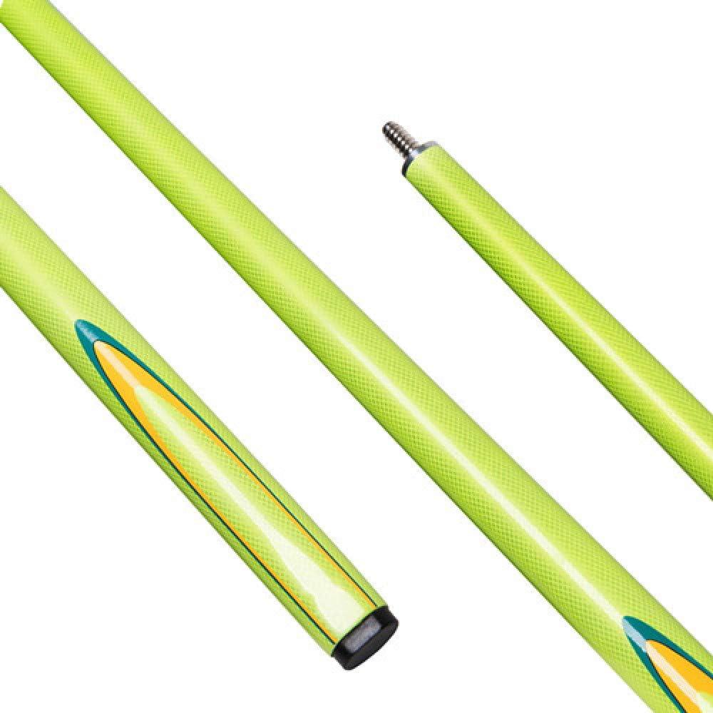 1/2 Snooker Cue Stick 9,5 mm Tip Club Tacos de Billar Amarillos: Amazon.es: Deportes y aire libre