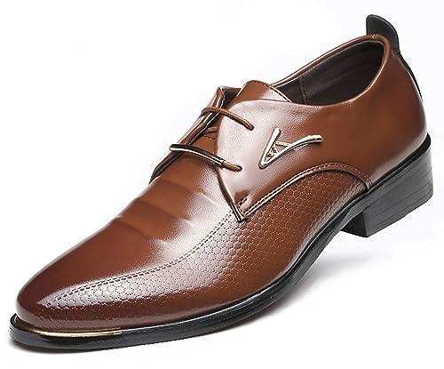 online store fcd80 e7603 AARDIMI Herrenschuhe Herren Uniform Berufsschuhe Elegant Businessschuhe  Lederschuhe Hochzeit Schuhe