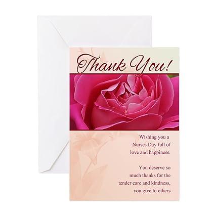 Amazon Cafepress Nurses Day Thank You Greeting Card Pk Of