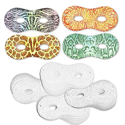 Creativity Street Embossed Paper Masks, Animal Designs, 3.5-