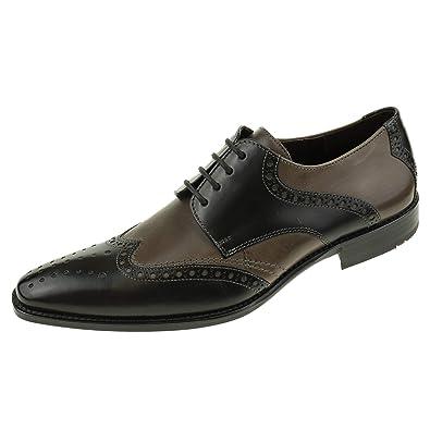 sports shoes f0559 75ef2 LLOYD Herrenschuhe Pearl 1419311 Schwarz Graphit Ledersohle