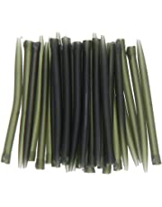 Demiawaking 30pcs Anti Tangle Sleeves Connect with Hook Carp Fishing Tackle