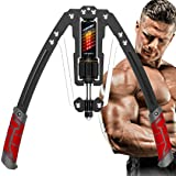 EAST MOUNT Twister Arm Exerciser - Adjustable 22-440lbs Hydraulic Power, Home Chest Expander, Shoulder Muscle Training Fitnes