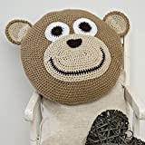 Wendy - Monkey Cushion - Complete Crochet Kit by Twilleys of Stamford