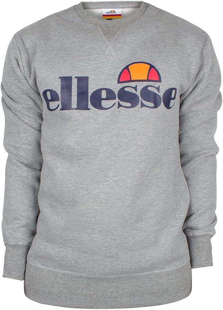 ELLESSE ALEX SAS05620 Mens Sweatshirt Half Zip High Neck Sleeved Pullover Jumper