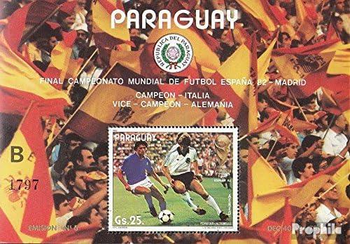Prophila Collection Paraguay Michel.-No..: Block378 (Completa ...