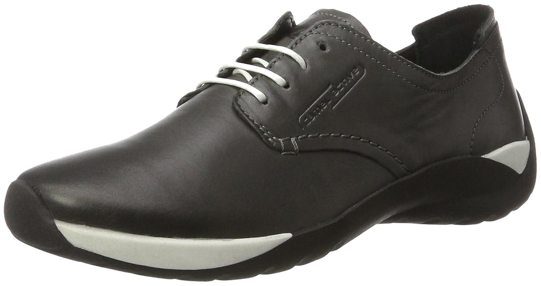 Camel Active Moonlight 72, Zapatos de Cordones Derby para Mujer 42 EU|Gris (Grey 01)