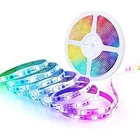 Govee RGBIC LED-strip 5m, LED-strip sync met muziek, bestuurbaar via app, voor feest, thuis, slaapkamer, tv…