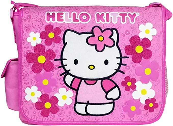 Miniature Hello Kitty Gift Bag Yellow with Flowers