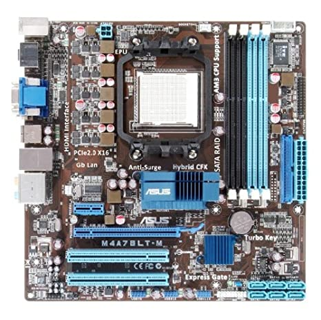 ASUS Socket AM3/AMD 760 G/A y v y GbE/Placa Base Micro ATX S M4 A78LT-M: Amazon.es: Electrónica
