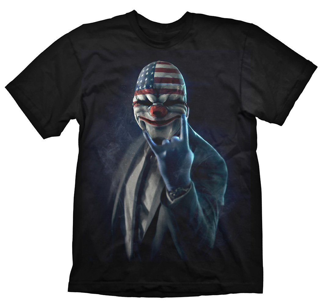 Payday 2 T-Shirt Rock On, M [Importació n Alemana] M [Importación Alemana] Gaya Entertainment GE1726M