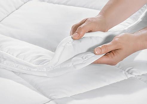 Great Microfaser Echte 4 Jahreszeiten Bettdecke Decke Steppbett 3 Größen  Steppdecke Ganz Jahresdecke Soft Touch