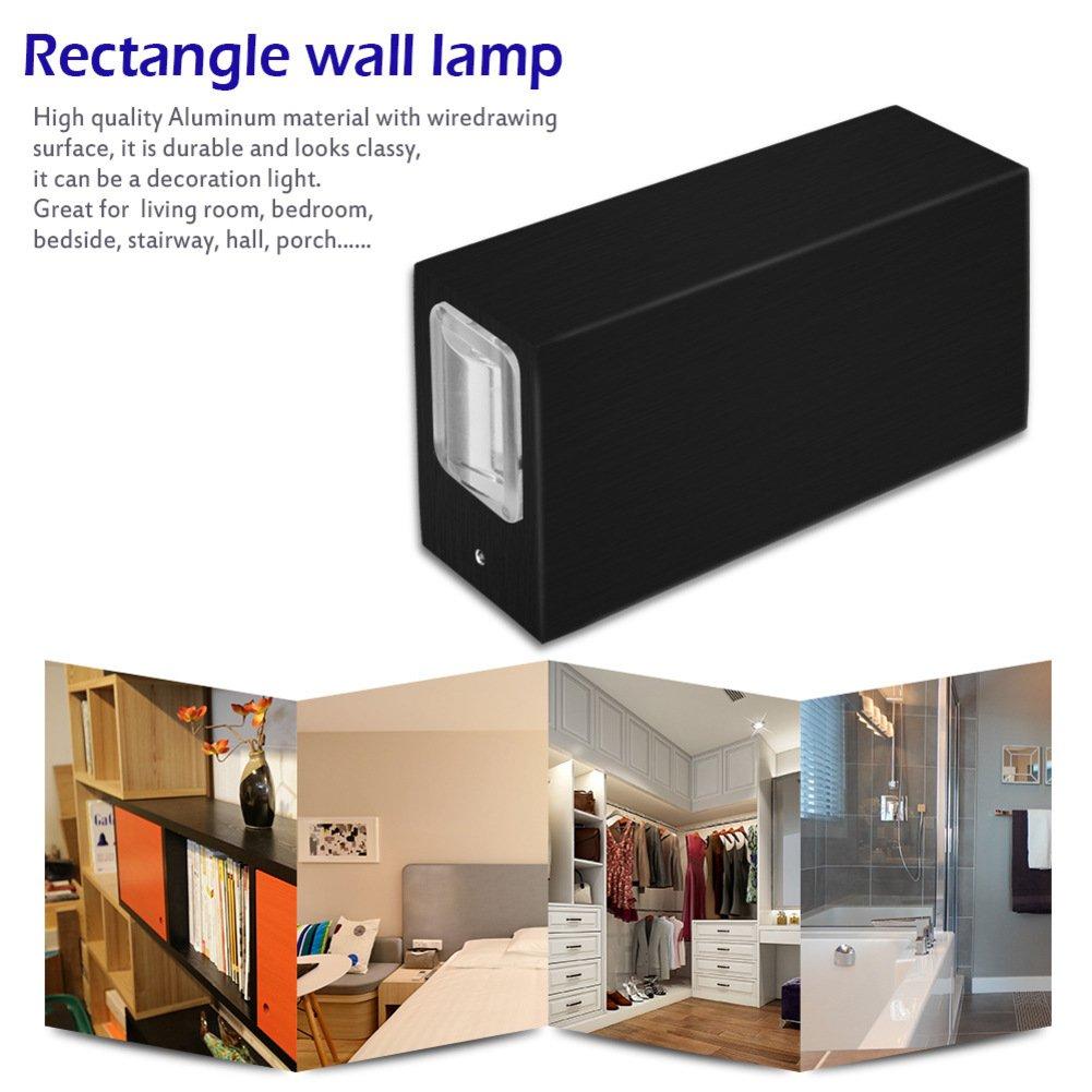 Amazon.com: nclon moderna creativa candelabro de pared, LED ...