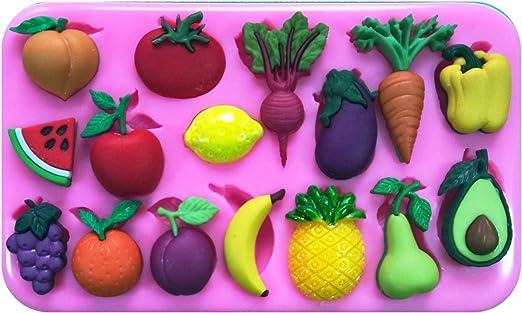 Frutas frescas y verduras parte de su 5 al día naranja piña sandía ...