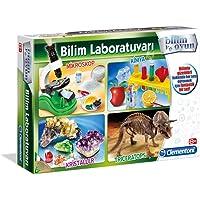 Clementoni 64550 Bilim Laboratuvarı - Kimya, Mikroskop, Kristaller, Triceratops