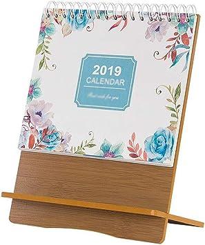 Calendarios de Escritorio Calendarios 2018~2019 Escritorio de ...