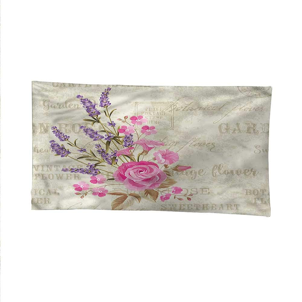 Lavenderwall Tapestry for bedroombeach tapestryPostal Stamp and Postmarks 60W x 51L Inch