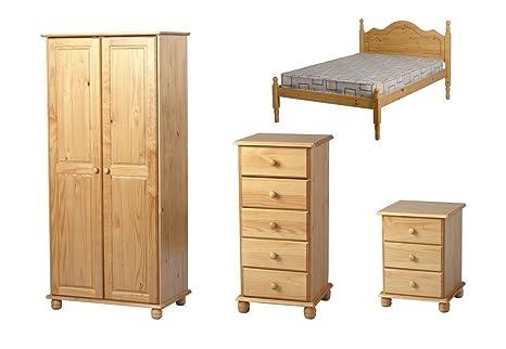 Seconique Sol 4 piezas Juego de muebles para dormitorio ...