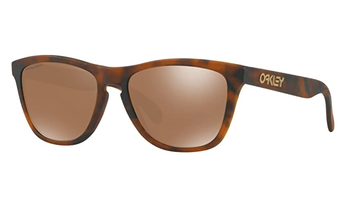 a71f874899 Image Unavailable. Image not available for. Color  Oakley Frogskins  Sunglasses Matte Tortoise with Prizm Tungsten ...