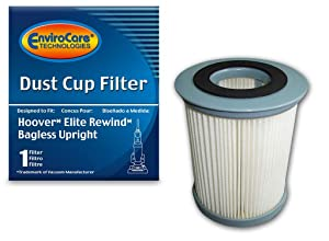 EnviroCare Replacement Vacuum Filter for Hoover Elite Rewind Uprights