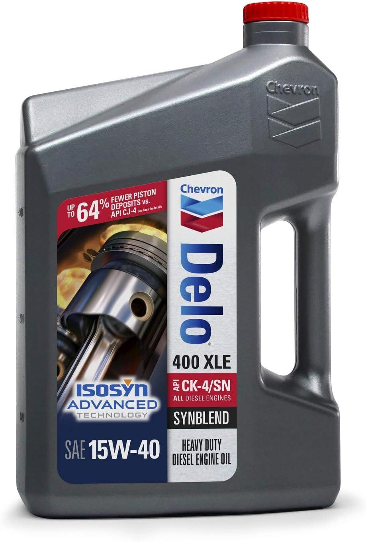 Delo 400 XLE Synblend Oil