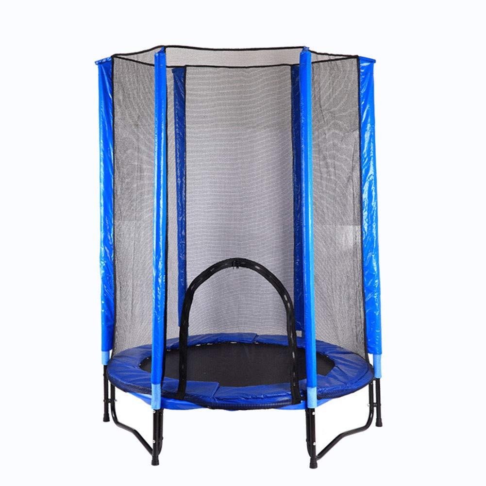 Trampolin 4.6ft / 140cm Sicherheitsgehäuse, Spaß und Fitness für Kinder Kinder Erwachsene, Indoor Outdoor Garten Übungsgeräte