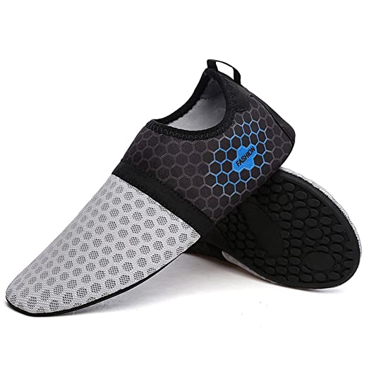 Men and Women's Quick-Dry Breathable Athletic Water Shoes Aqua Socks